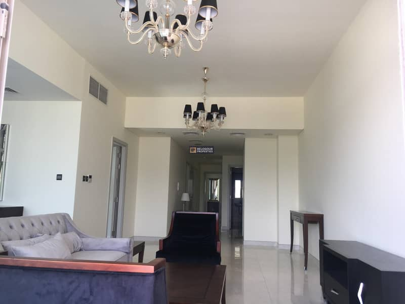 FURNISHED 3BR + MAID ll  BIG BALCONY ll BEST DEAL