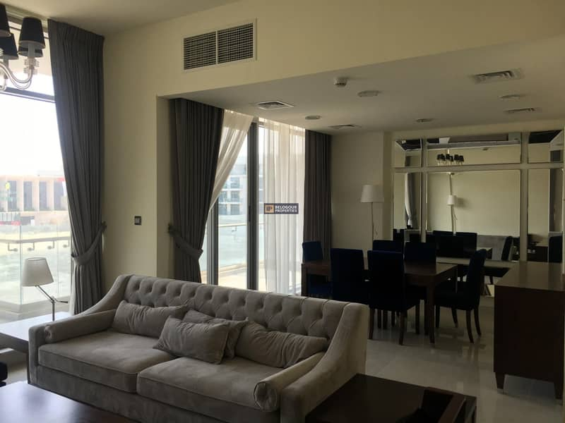 2 FURNISHED 3BR + MAID ll  BIG BALCONY ll BEST DEAL