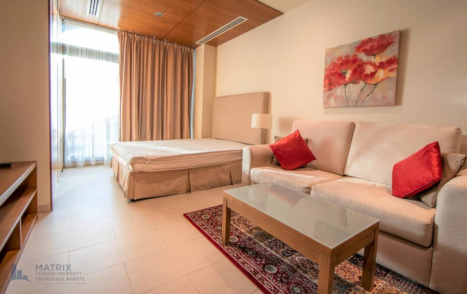Lowest Price !Furnished Studio in Spirit Tower