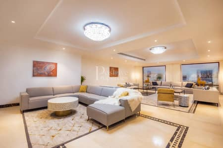 5 Bedroom Villa for Rent in Palm Jumeirah, Dubai - Fully Furnished / Full Atlantis View / High Number