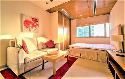 استوديو  للايجار في مدينة دبي الرياضية، دبي - Furnished De luxe studio in Spirit Tower
