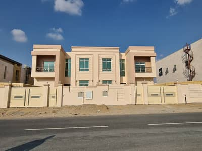 3 Bedroom Villa for Rent in Hoshi, Sharjah - Brand new 3bhk villa with maid room rent 85k in 1cheque in Al hoshi area