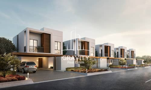 2 Bedroom Townhouse for Sale in Al Ghadeer, Abu Dhabi - Elegant & Brand New Community Awaits You | Inquire Now