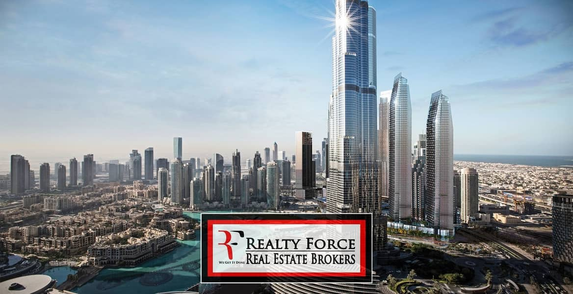 1 HIGH FLOOR | FULL BURJ VIEW | 5BR PENTHOUSE