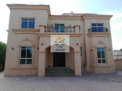 فیلا 5 غرف نوم للايجار في المقطع، أبوظبي - Duplex big villa in central A/C with 2 parking