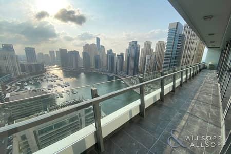3 Bedroom Apartment for Sale in Dubai Marina, Dubai - Three Bed | Marina Views | Large Terrace