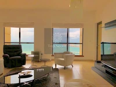 فلیٹ 4 غرف نوم للبيع في جميرا بيتش ريزيدنس، دبي - Exceptional Panoramic Sea View - Furnished & Exclusive Unit