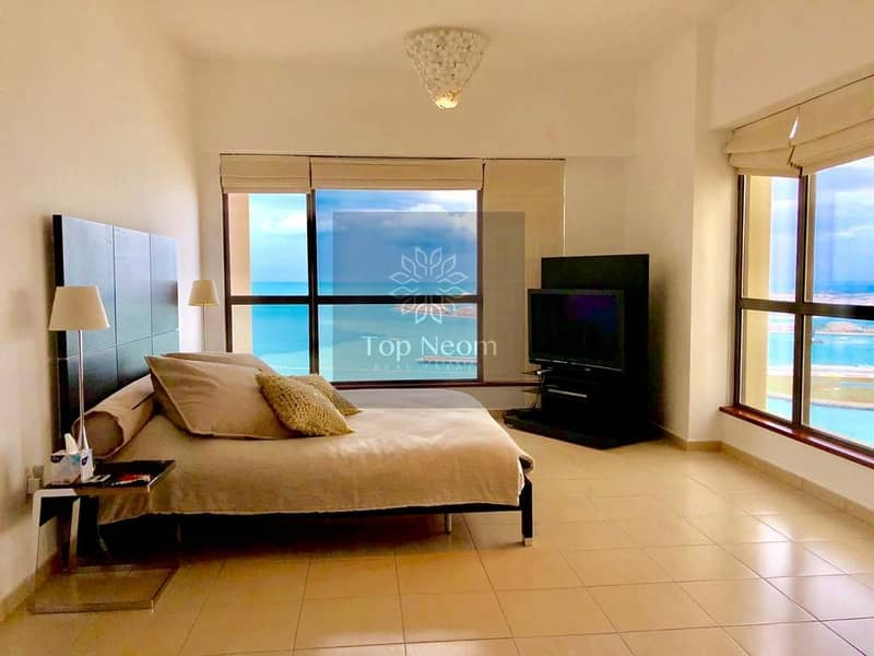 2 Exceptional Panoramic Sea View - Furnished & Exclusive Unit