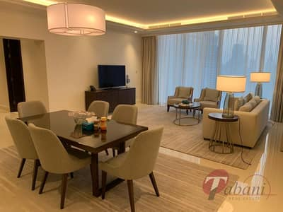 Fully Furnished| Burj and Fountain View|High Floor