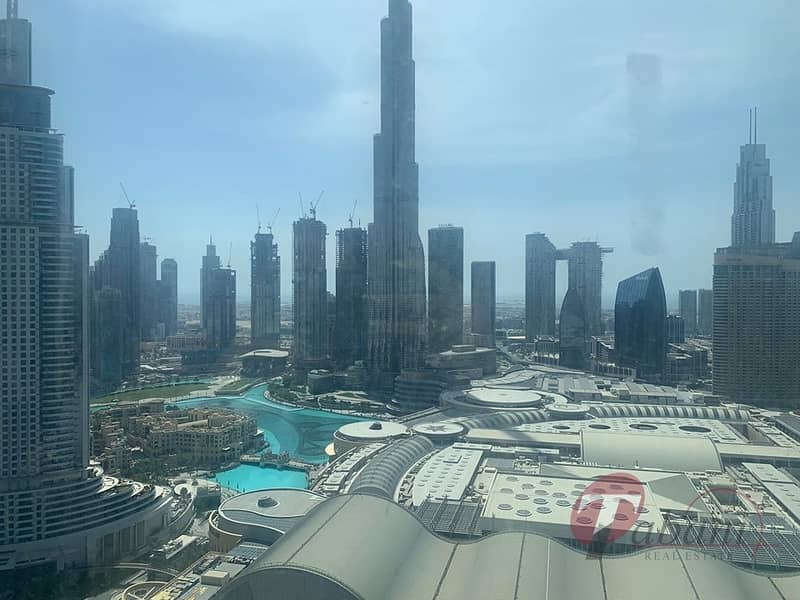 16 Fully Furnished| Burj and Fountain View|High Floor