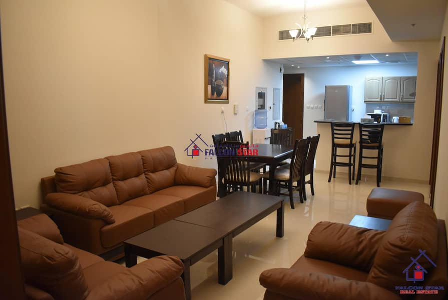 2 FULL GOLF COURSE AND POOL VIEW - FULLY FURNISHED 2 BEDROOM - BIGGEST LAYOUT