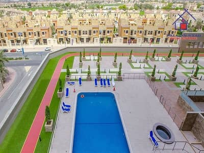 515 SQ.FT - FULL GOLF AND POOL VIEW - FULLY FURNISHED STUDIO - BIGGEST LAYOUT