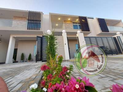 فیلا 4 غرف نوم للبيع في الزاهية، عجمان - فيلا للبيع واجهه ممتازه علي الشارع تملك حر لجميع الجنسيات