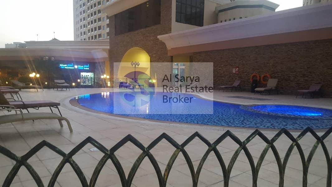 14 Spacious Layout 1 Bed | Well Maintained |Pool | GYM