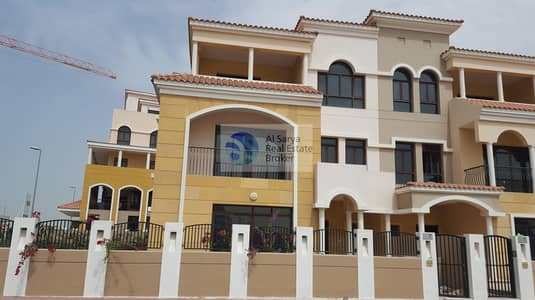 4 Bedroom Townhouse for Rent in Jumeirah Village Circle (JVC), Dubai - Corner 4 Bed | Maid | Large Garden |Pool |GYM
