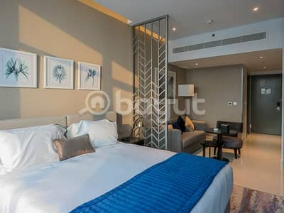 Hotel Apartment for Rent in Business Bay, Dubai - Studio damac prive