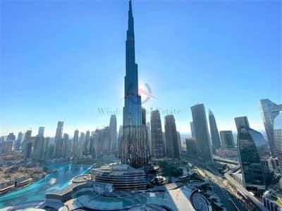 فلیٹ 3 غرف نوم للايجار في وسط مدينة دبي، دبي - Burj Khailfa View  | 3 Bed Luxury Apt | High Floor