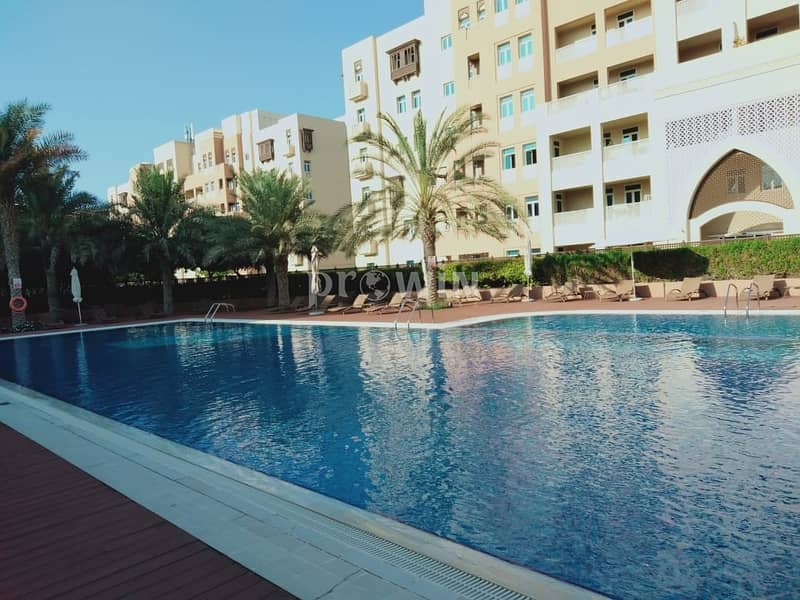 22 Huge 3 BR + Maid + Laundry | Chiller Free | Stunning Pool Views | Upto 6 Cheques !!!
