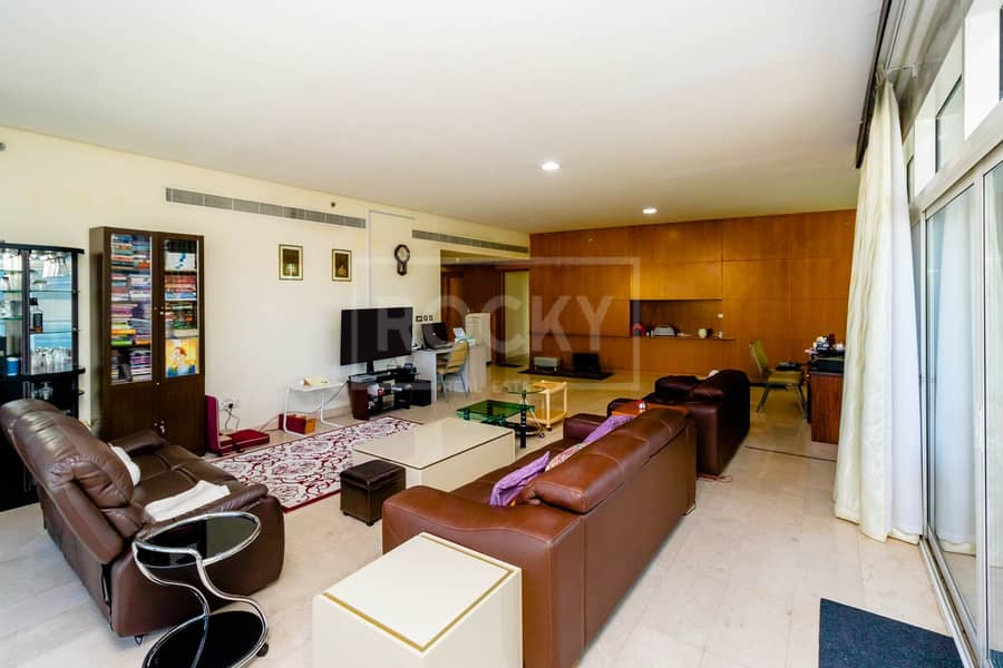 Marina View | 3-Bed | Plus Maids Room