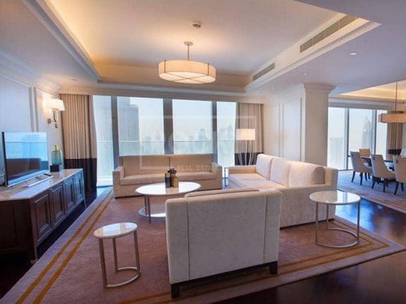 2 Vacant | 4-Bed | Burj Khalifa View | Downtown