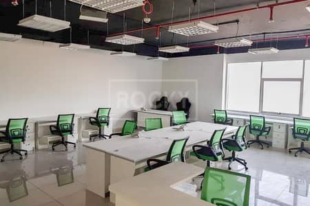 Office for Rent in Dubai Silicon Oasis, Dubai - Chiller Free |Fitted Office|IT Plaza Silicon Oasis
