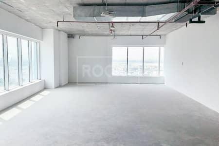 مکتب  للبيع في الخليج التجاري، دبي - Shell and Core | Flooring to Ceiling Windows | Business Bay