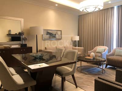 1 Bedroom Flat for Rent in Downtown Dubai, Dubai - Fully Furnished | 1-Bed | Burj Khalifa View