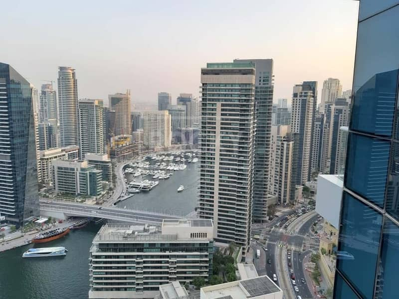 36 Higher Floor | Furnished | Marina View