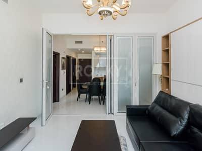 شقة 1 غرفة نوم للايجار في أرجان، دبي - Furnished | 1-Bed | Pool View | Arjan