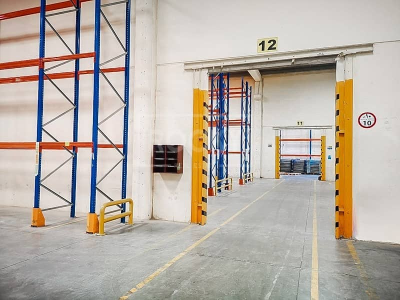 Ready Warehouse with Racking | offices | AC