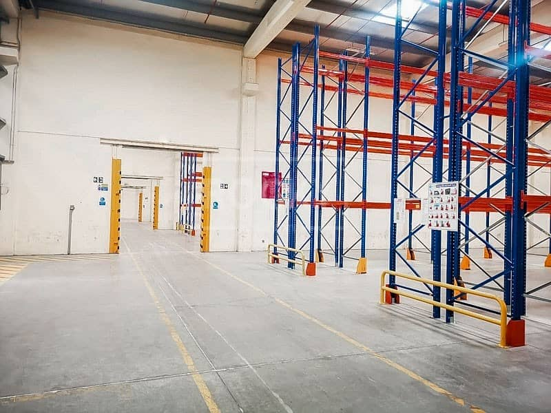 2 Ready Warehouse with Racking | offices | AC