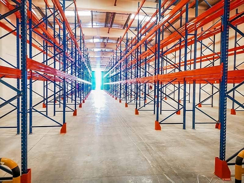 13 Ready Warehouse with Racking | offices | AC