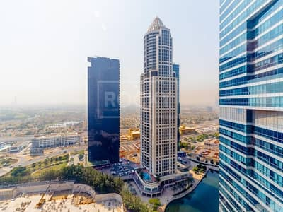 Office for Rent in Jumeirah Lake Towers (JLT), Dubai - Furnished Office | Open Layout | Close to Metro | DMCC