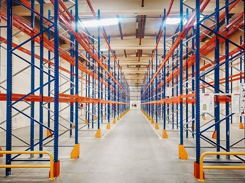 Warehouse with Racking | Offices | NO Tax