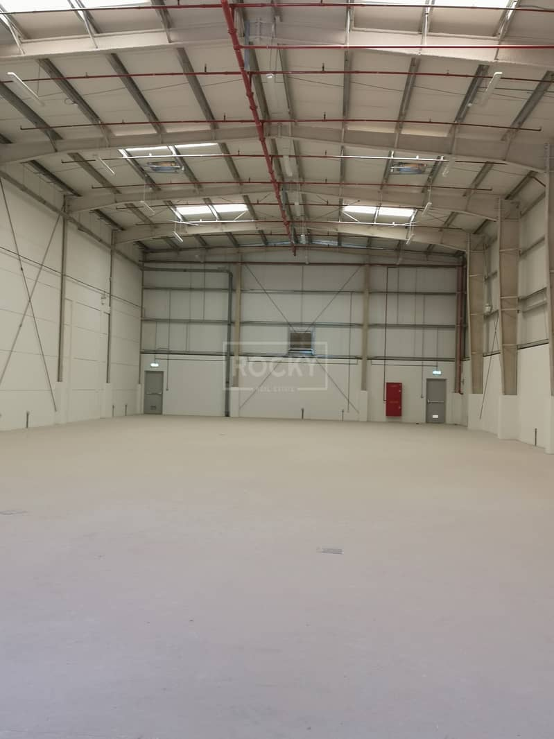 Brand New Warehouse | for RENT in DIC | NO govt TAX
