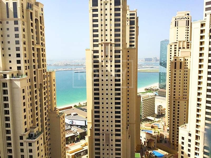 11 Exclusive | High Floor | Spacious 1 Bed | Sea view