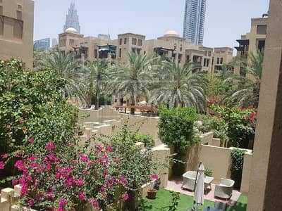 1 Bedroom Flat for Rent in Old Town, Dubai - Semi-Furnished | 1-Bed | Garden View | Downtown