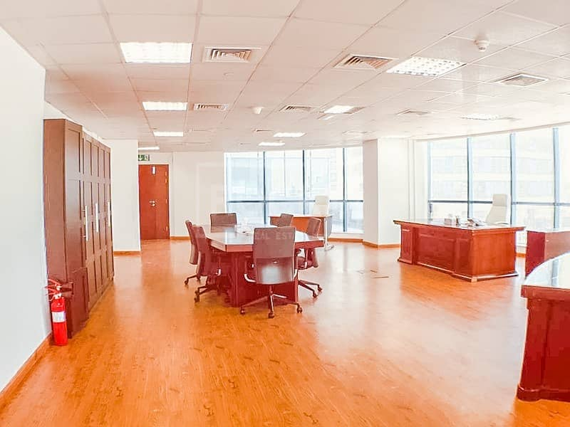 Fitted-Furnished Office in Jumeirah Lake Towes