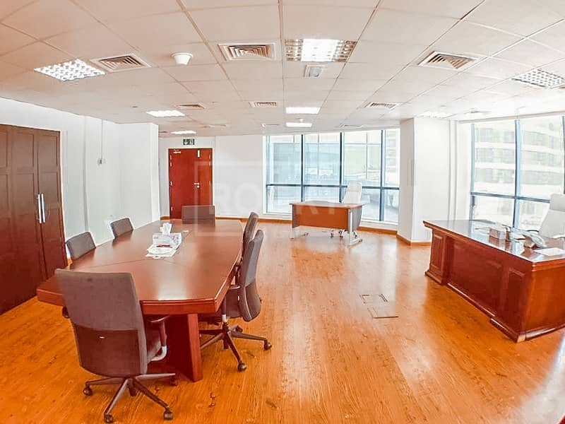 10 Fitted-Furnished Office in Jumeirah Lake Towes