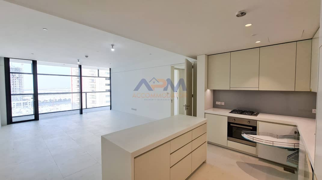 2 Brand New ! Sea View 2BHK Apartment With Maid.