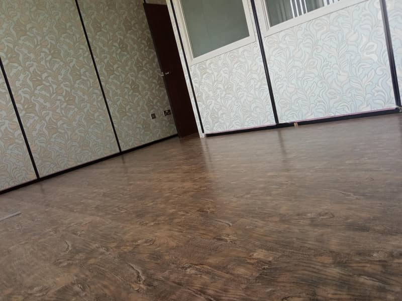 15 Fully Fitted Office of 750 Sqft for 45000 only 3 month free option Chiller Free