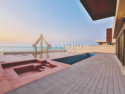 7 Bedroom Villa for Sale in Saadiyat Island, Abu Dhabi - Experience the luxury; Huge Sea View Villa