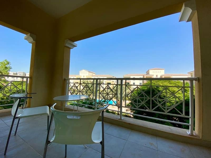 2 Amazing Furnished | 1 BHK | Full Pool View