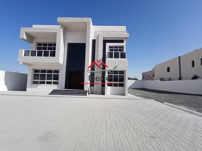 فیلا 8 غرف نوم للايجار في مدينة شخبوط (مدينة خليفة ب)، أبوظبي - Exceptionally huge 8BR villa | balcony and driver room