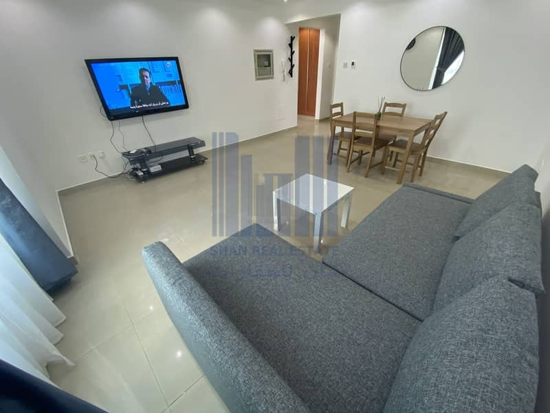 16 WIFI | Fully Furnished | 1 BHQ | Corniche | For rent Monthly