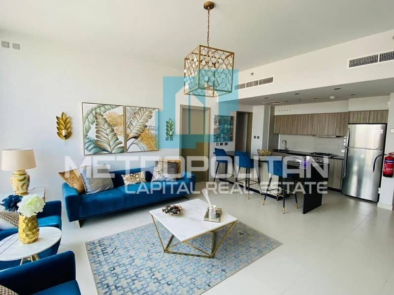 2 All Brand New Luxurious Furnitures|Amazing View!
