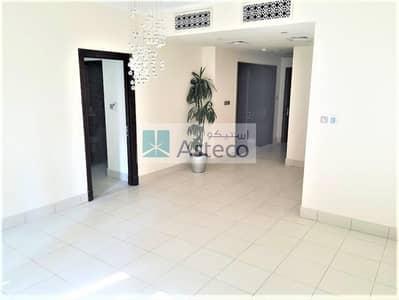 فلیٹ 1 غرفة نوم للايجار في المدينة القديمة، دبي - Balcony facing Garden   Closed Kitchen   Low FLoor