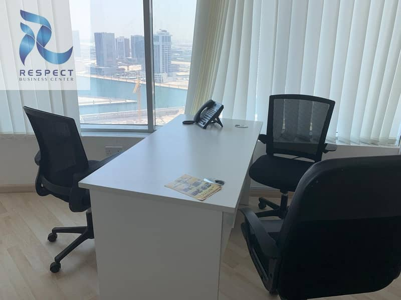 SPACIOUS FURNISHED OFFICE | CLOSE TO THE METRO STATION