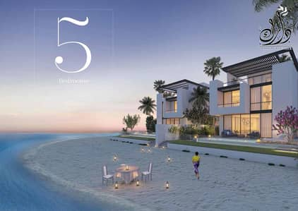 5 Bedroom Villa for Sale in Sharjah Waterfront City, Sharjah - For Sale Luxury Villas in  private island with 10% Down Payment