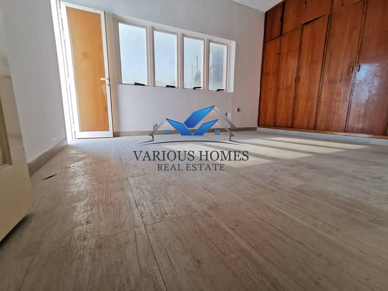2 Excellent and Spacious 03 Bedroom Apartment with Nice Wardrobes Balcony Central AC at Al Muroor Road